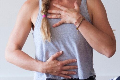 respirare con il diaframma