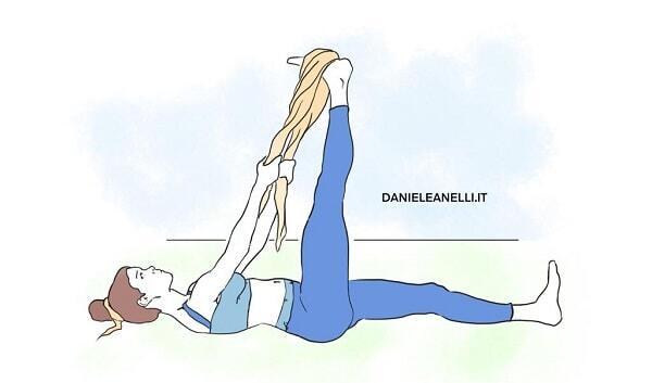 stretching ischiocrurali