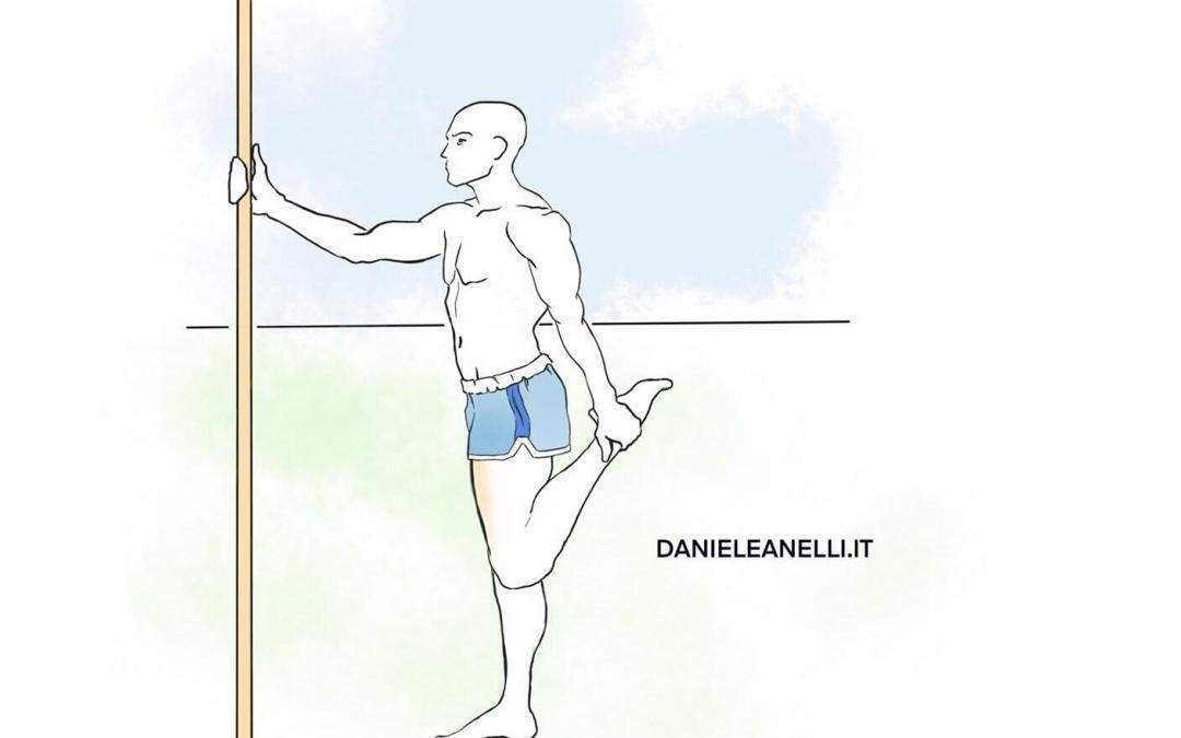 Stretching quadricipite: un esercizio praticabile ovunque